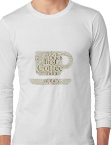 History of Coffee Long Sleeve T-Shirt