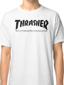 "Thrasher ""Skateboard Magazine"" Logo Design Classic T-Shirt"