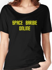 Space Barbie Online Women's Relaxed Fit T-Shirt