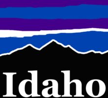 Idaho Midnight Mountains Sticker