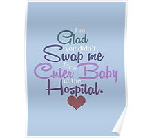 A Cuter Baby Poster