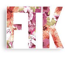 FTK Canvas Print