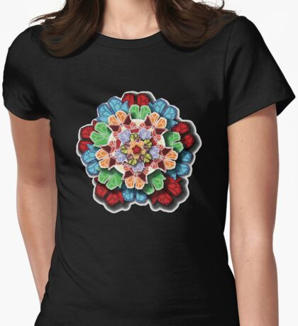Butterfly Effect #3 Womens Fitted T-Shirt