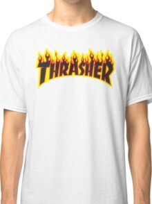 "Thrasher ""Flame"" Logo Design Classic T-Shirt"