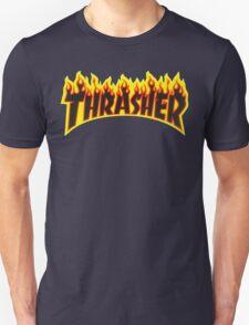 "Thrasher ""Flame"" Logo Design T-Shirt"