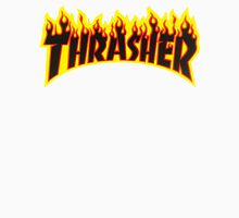 "Thrasher ""Flame"" Logo Design Unisex T-Shirt"