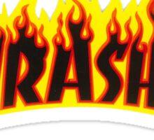 "Thrasher ""Flame"" Logo Design Sticker"