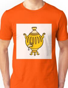Funny Russian samovar colorful  Unisex T-Shirt