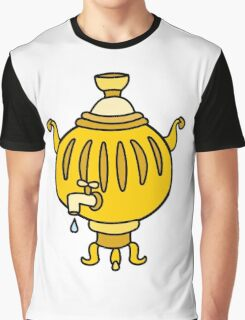 Funny Russian samovar colorful  Graphic T-Shirt