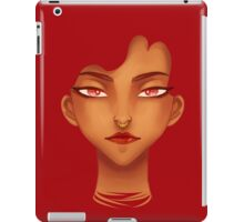 Red Eyes iPad Case/Skin