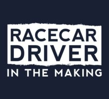 Race Car Driver in the Making  One Piece - Long Sleeve