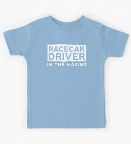 Race Car Driver in the Making  Kids Tee