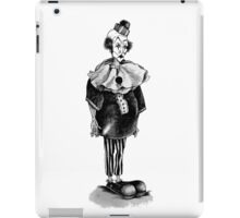 The Pantomime Actor iPad Case/Skin