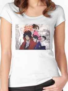 Samurai Champloo Women's Fitted Scoop T-Shirt