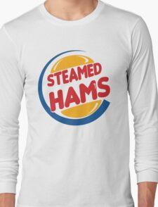 Steamed Hams – Principal Skinner, Superintendant Chalmers Long Sleeve T-Shirt