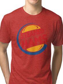 Steamed Hams – Principal Skinner, Superintendant Chalmers Tri-blend T-Shirt