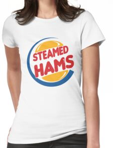 Steamed Hams – Principal Skinner, Superintendant Chalmers Womens Fitted T-Shirt