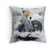 Spontaneous Order #3 Throw Pillow