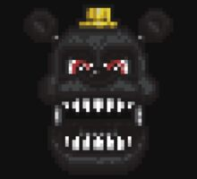 Adventure Nightmare - FNAF World - Pixel Art Baby Tee