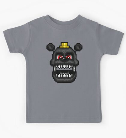 Adventure Nightmare - FNAF World - Pixel Art Kids Tee