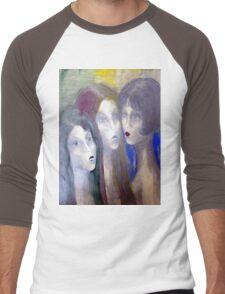 Girls Men's Baseball ¾ T-Shirt