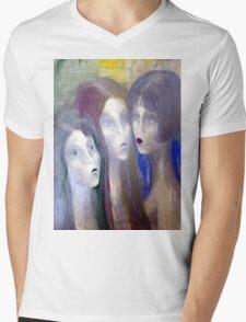 Girls Mens V-Neck T-Shirt