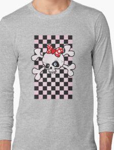 girl power skull Long Sleeve T-Shirt