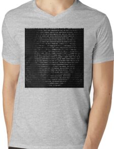 Hello, Adele Mens V-Neck T-Shirt