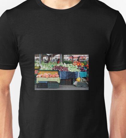 Ljubljana Market in December Unisex T-Shirt