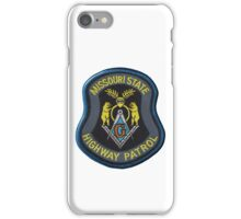 Missouri Highway Patrol Masonic iPhone Case/Skin