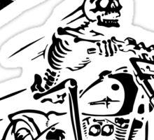 ride till death Sticker