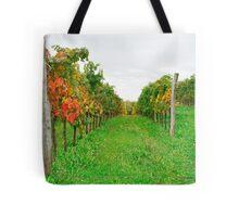 Autumn Grape Vines Near Abbazia Rosazzo Tote Bag