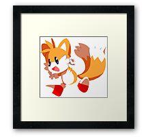 Tails! Framed Print