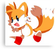 Tails! Canvas Print