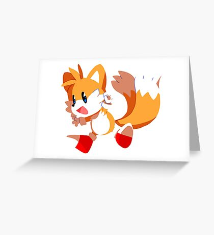 Tails! Greeting Card