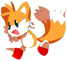 Tails! Photographic Print