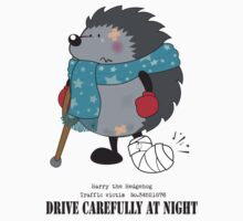 Drive carefully at night One Piece - Short Sleeve