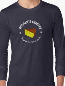 Roshans Cheeses (White text) T-Shirt