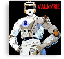 Nasa Space Travel Poster - Valkyrie Robert Canvas Print