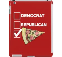 I'm voting for pizza 2016 iPad Case/Skin