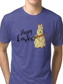 HOPPY easter Tri-blend T-Shirt