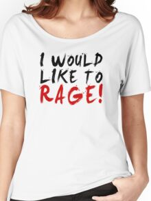I WOULD LIKE TO RAGE!!! - Grog Strongjaw Women's Relaxed Fit T-Shirt