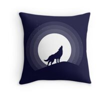 Awesome nature - The Wolf Throw Pillow
