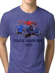 Retro vintage classic Grand Prix 1938 Tri-blend T-Shirt