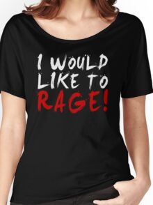 I WOULD LIKE TO RAGE!!! - Grog Strongjaw (White) Women's Relaxed Fit T-Shirt