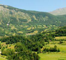 Landscape Near Dreznica Sticker