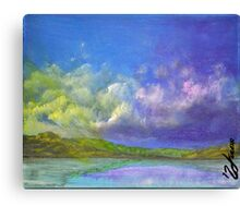 Abstract Colorful Sky Study  Canvas Print