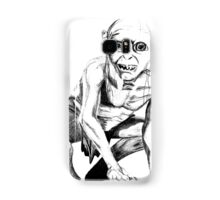 Gollum pencil sketch Samsung Galaxy Case/Skin