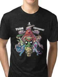 Team Caterpie - 4 Years! Tri-blend T-Shirt