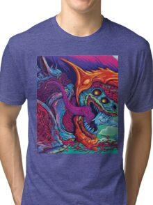 Hyperbeast merch Tri-blend T-Shirt